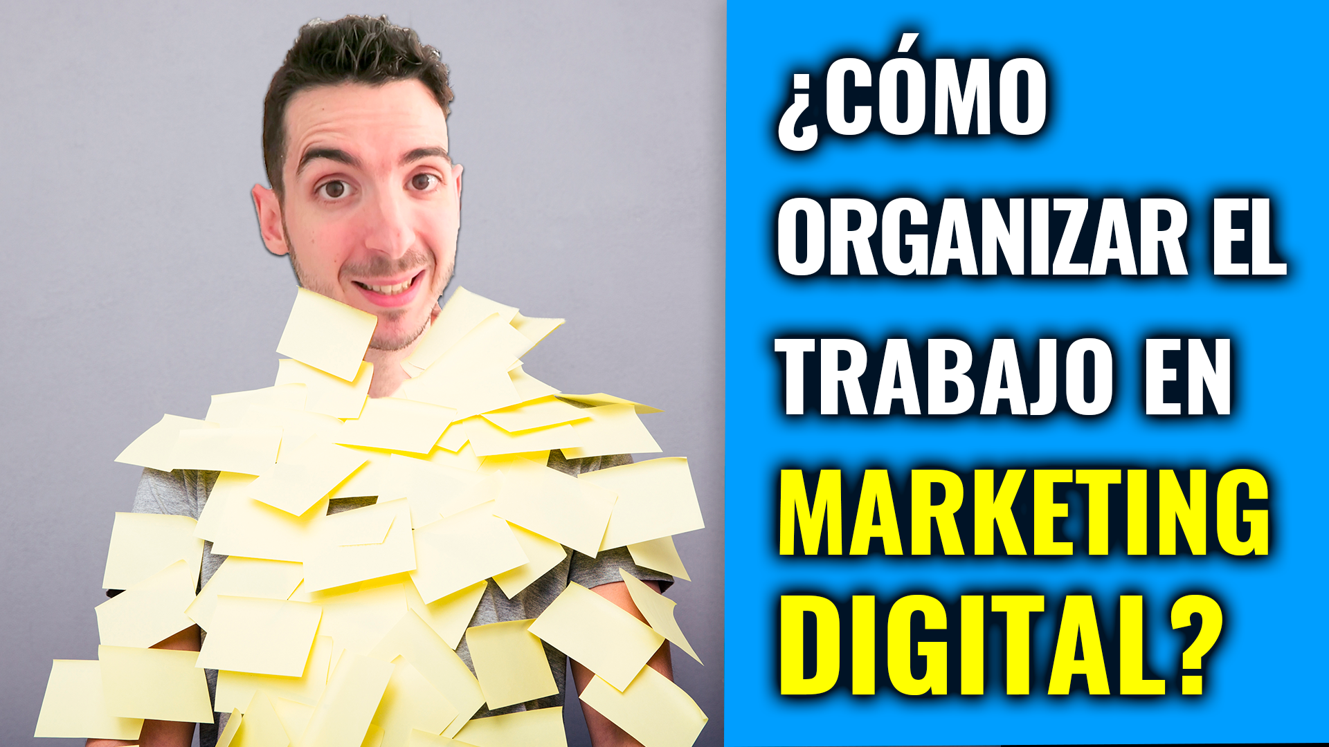 organizar trabajo marketing digital